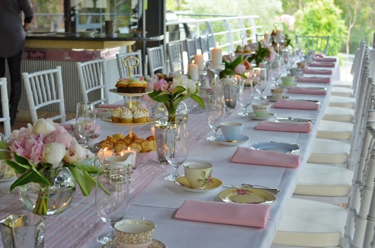 How to organise an afternoon tea party for Afternoon tea decoration ideas