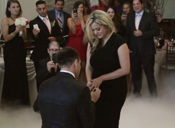 proposing at someone else wedding